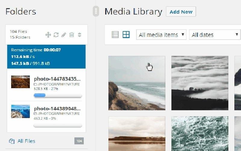WP Real Media-Library