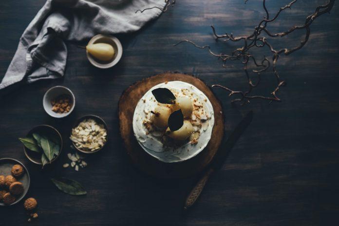 Frucht Dessert mit Birnen