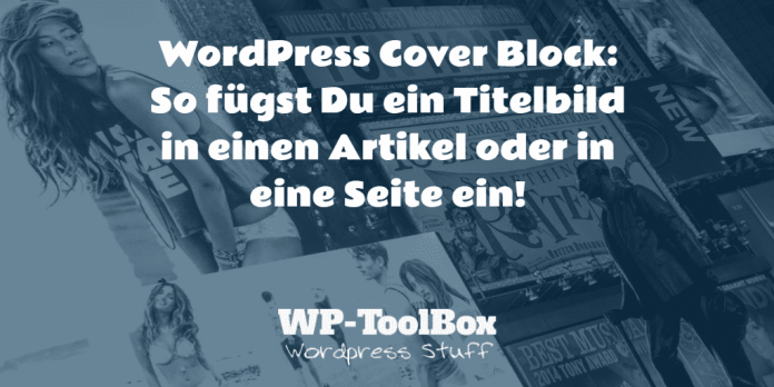 Cover Block WordPress